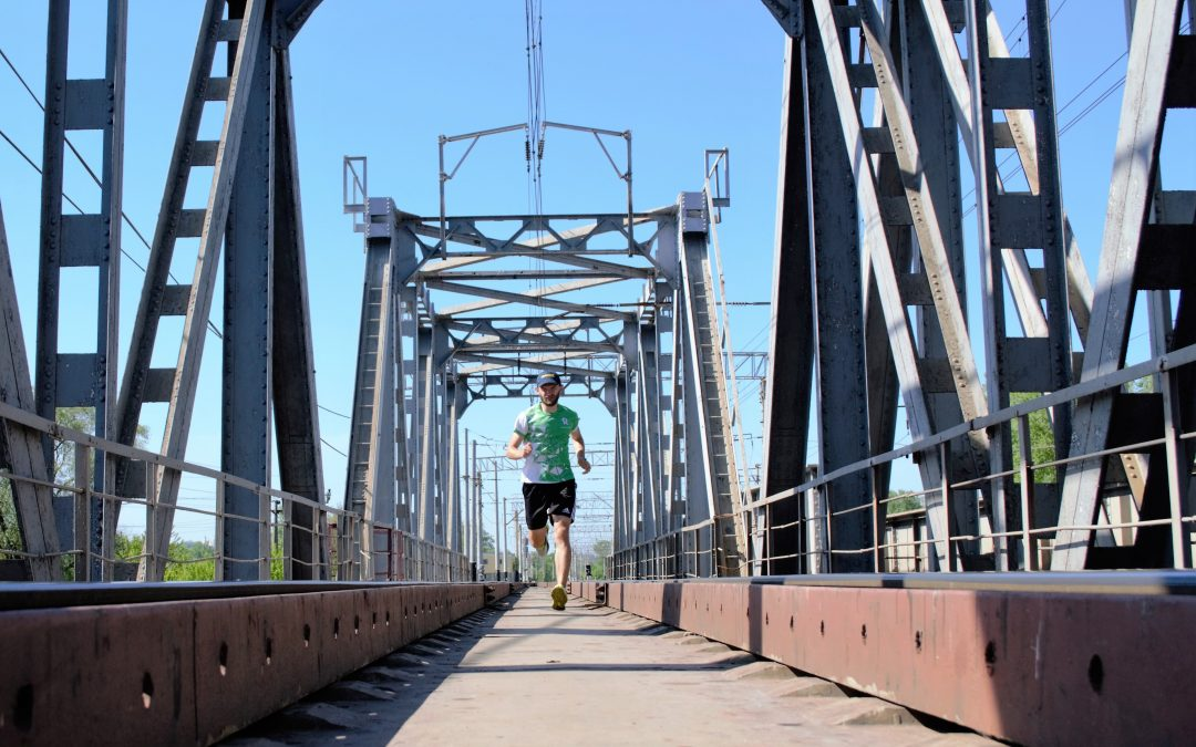 Бігаємо манівцями: три мости – маршрут Валерія Ручки